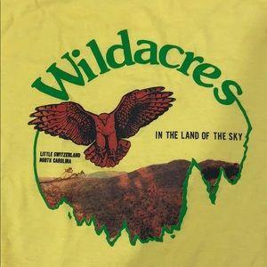 """Vintage Hipster """"Wildacres"""" tee"""